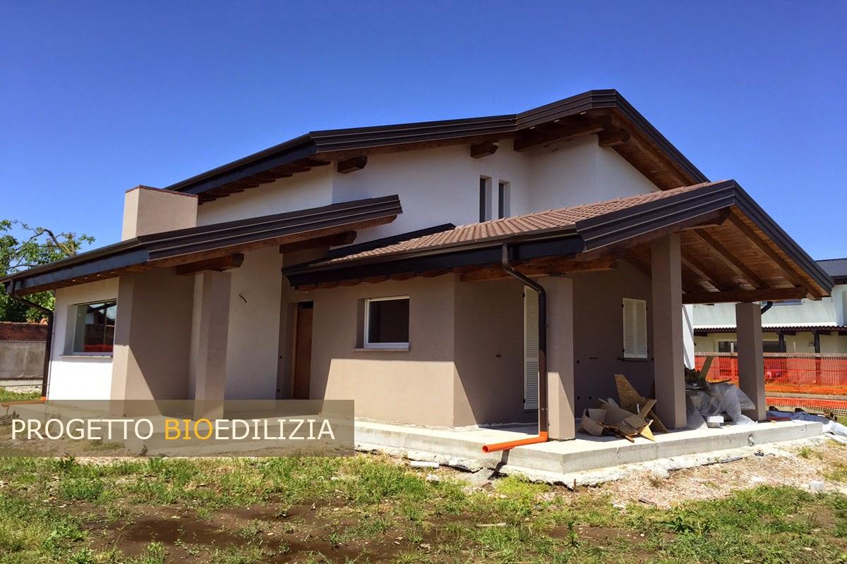 Bioedilizia case prefabbricate ecologiche realizzazioni for Aggiunte di case a due livelli