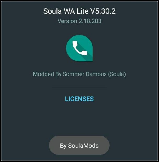 Download Soula WhatsApp Lite 6.40 APK (Latest Version)