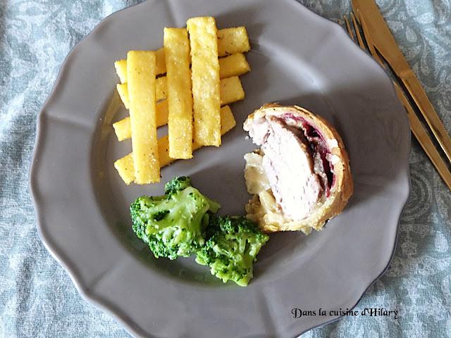 Filet mignon en croûte à l'Italienne et ses frites de polenta - Dans la cuisine d'Hilary