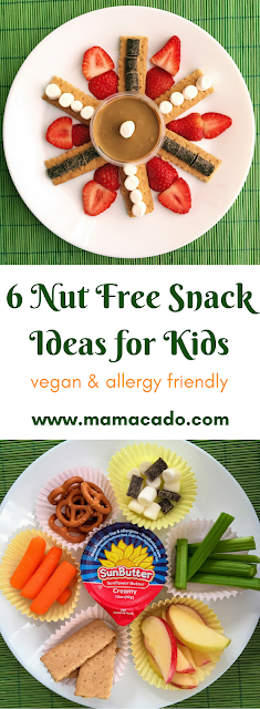 6 Nut Free Snack Ideas for Kids
