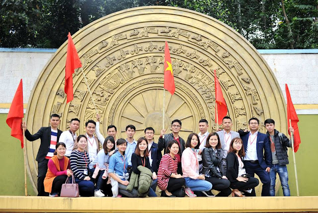 Du xuân Đền Hùng 2018 - Công ty Bất động sản Tuấn 123