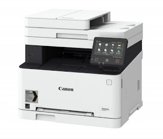 quality colour Light Amplification by Stimulated Emission of Radiation beam printing from a competent together with aught Canon i-SENSYS MF635CX Drivers Download