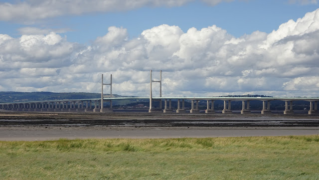 M4 Bridge over the Severn taken on my Land's End to John O'Groats hike 2018