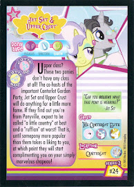 My Little Pony Jet Set & Upper Crust Series 2 Trading Card