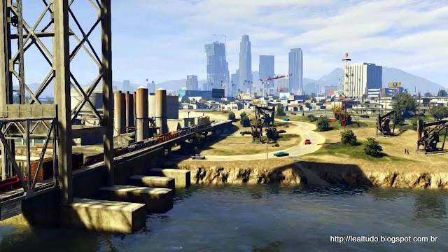 Grand Theft Auto Online Los Santos Landscape - Paisagem