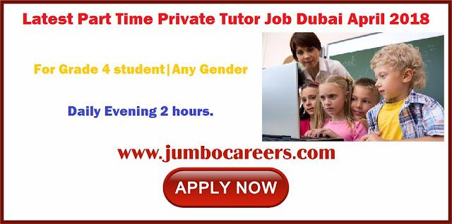 part time english teaching jobs in dubai, part time jobs in dubai