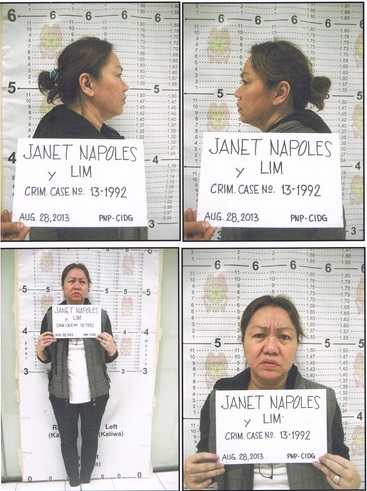 Janet Lim Napoles now in Makati City Jail