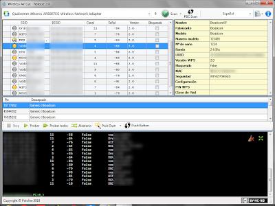 Auditar vulnerabilidad del protocolo WPS desde Windows