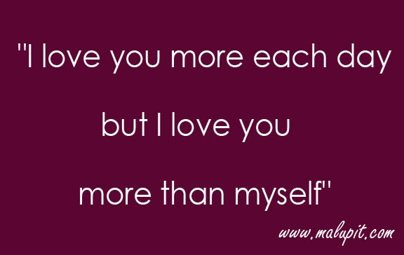 Love Quotes I Love You More Than Myself Life Quotes Love