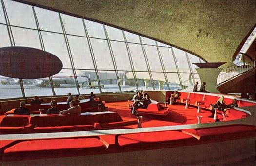 Terminal Terminal TWA Aeropuerto JFK en New York | Eero Saarinen | Planta + sección + fotosAereopuerto JFK. Eero Saarinen