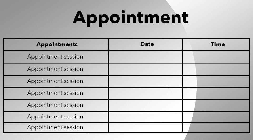 Ipc ianss physio company major project des509 design progress design progress appointment card altavistaventures Choice Image