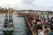 Penumpang Dan Perahu Deng Tandeng Akhirnya Selamat Tiba Di P.Kayuadi