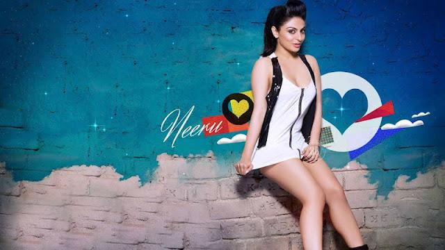 Neeru Bajwa Hot Milky Thighs Show Sexy Pose Hq Wallpaper -2205