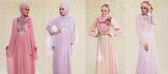 Trend Fashion Gaun Muslim Wanita Terbaru 2015