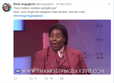 Clapback Thanksgiving 2017