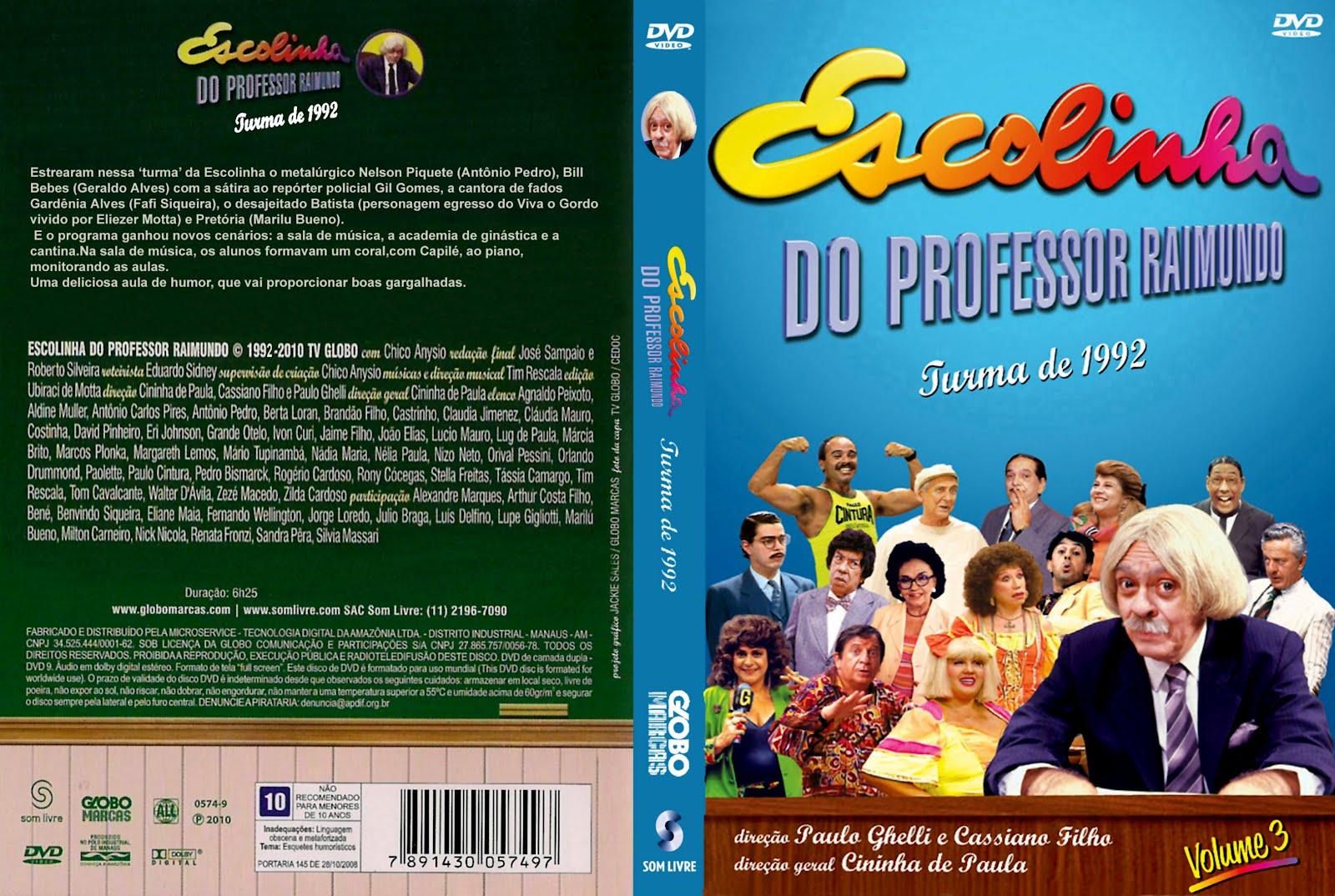 dvd escolinha do professor raimundo gratis