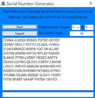SerialNumber Generator