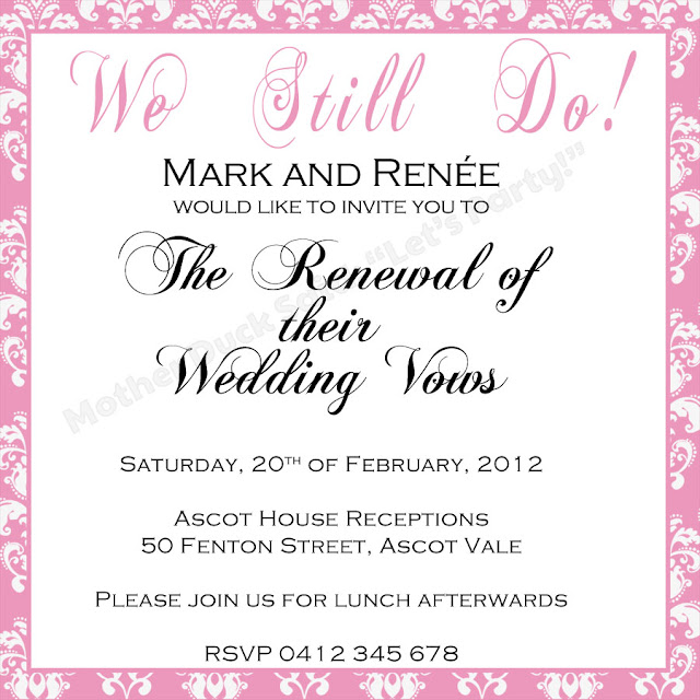 This is a graphic of Zany Free Printable Vow Renewal Invitations