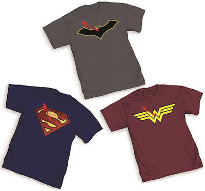 San Diego Comic-Con 2016 Exclusive Watchman DC Universe Rebirth Symbol T-Shirts by Graphitti Designs – Batman/Watchmen Symbol, Superman/Watchmen Symbol, Wonder Woman/Watchmen Symbol