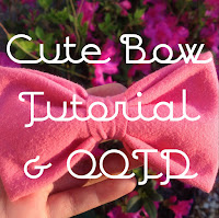 diy t-shirt bow, diy fabric bow, simple and easy bow, lauren banawa