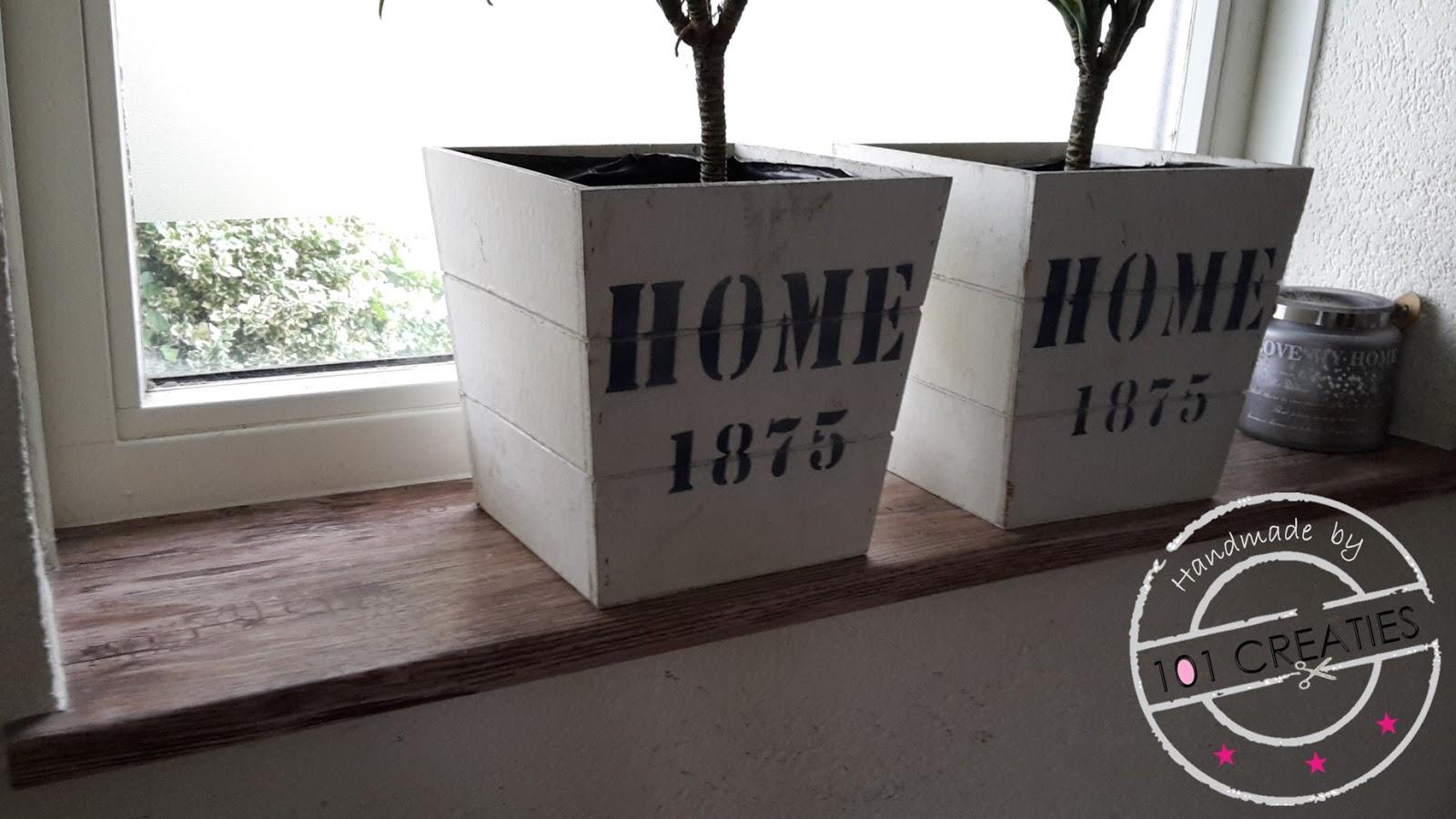 Keuken Pimpen Verzameling : Vensterbank pimpen gelakt hout verven zonder schuren