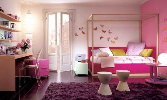 15 French Pink Decorations - Decor Units