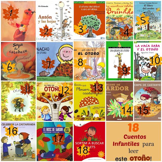 Resultado de imagen de el otoño y los libros infantiles