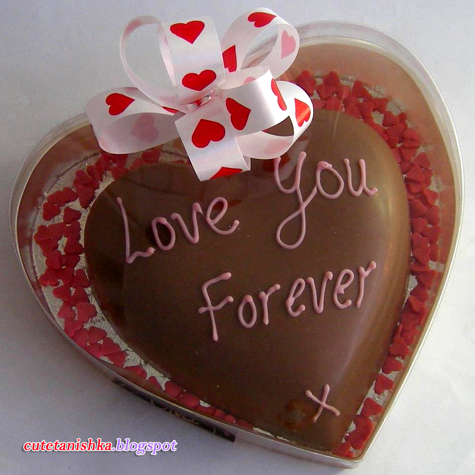 Love You Forever | Romantic Heart Cake For Someone Special ...