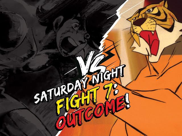 Rocky Joe vs Uomo Tigre, com'è andata a finire