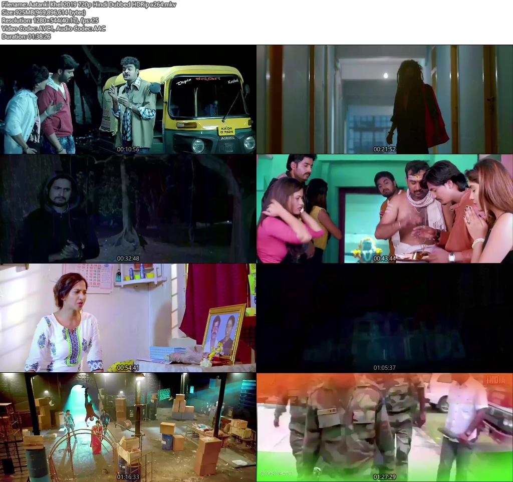 Aatanki Khel 2019 720p Hindi Dubbed HDRip x264 | 480p 300MB | 100MB HEVC Screenshot