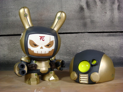 "Heavy Trooper Vasquez Custom 8"" Dunny Vinyl Figure by Huck Gee"