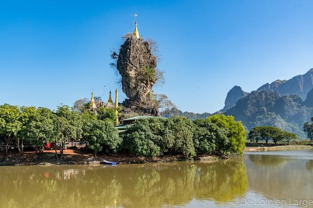 Kyaik-Ka-Lat - Kyauk-Ka-lat pagoda - Hpa An