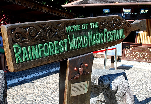 Sarawak Rainforest World Music Festival