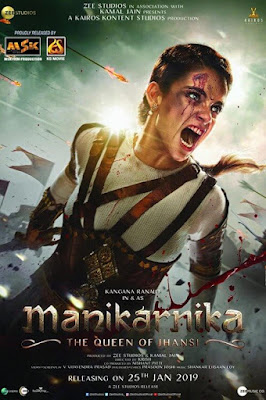Manikarnika: The Queen of Jhansi (2019) Hindi Movie HDRip | 720p | 480p