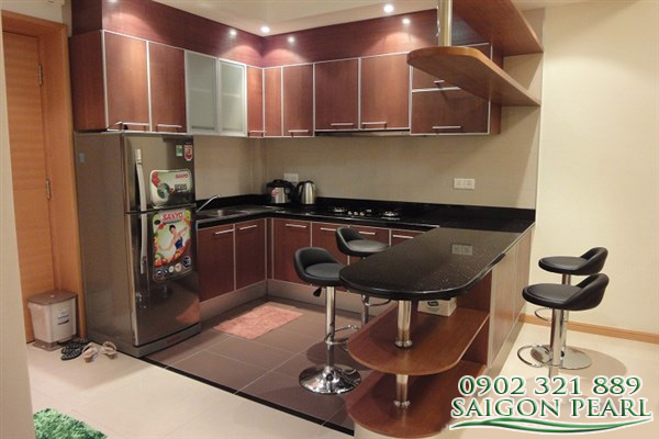Saigon Pearl Apartment for rent, 2 BR, swimming pool view