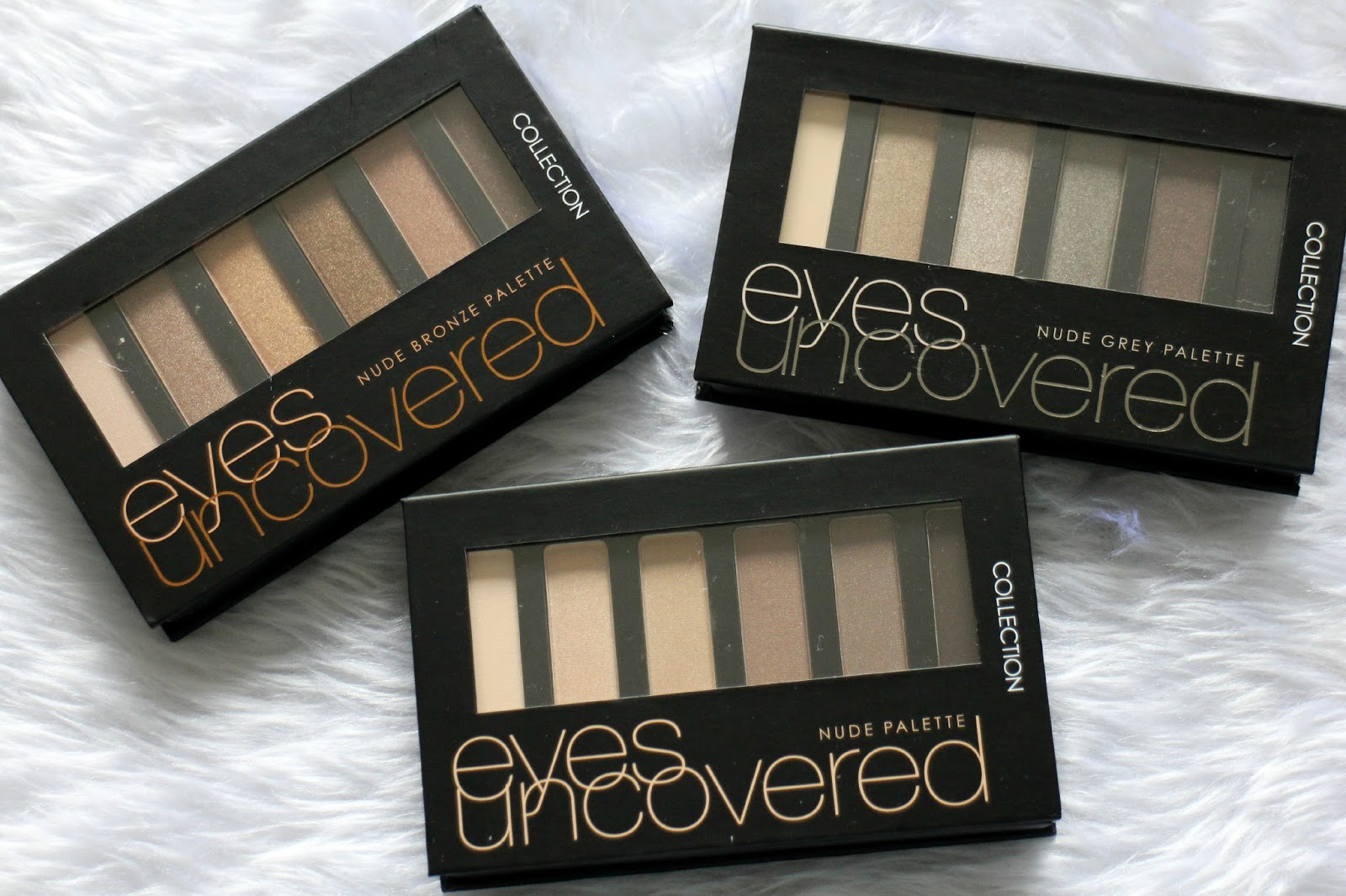 Collection Eyes Uncovered Nude Palettes
