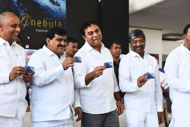 Minister KTR , Launched , Tea Savari Smart Card , Tsavari App , Smart Card For Hyderabad Metro ,Telangana