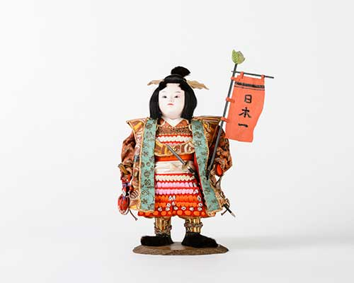 Momotaro doll (private collection).