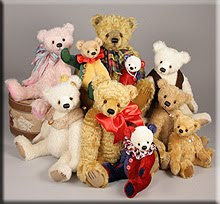 The 2012 Teddy Bear Artist Event Collection