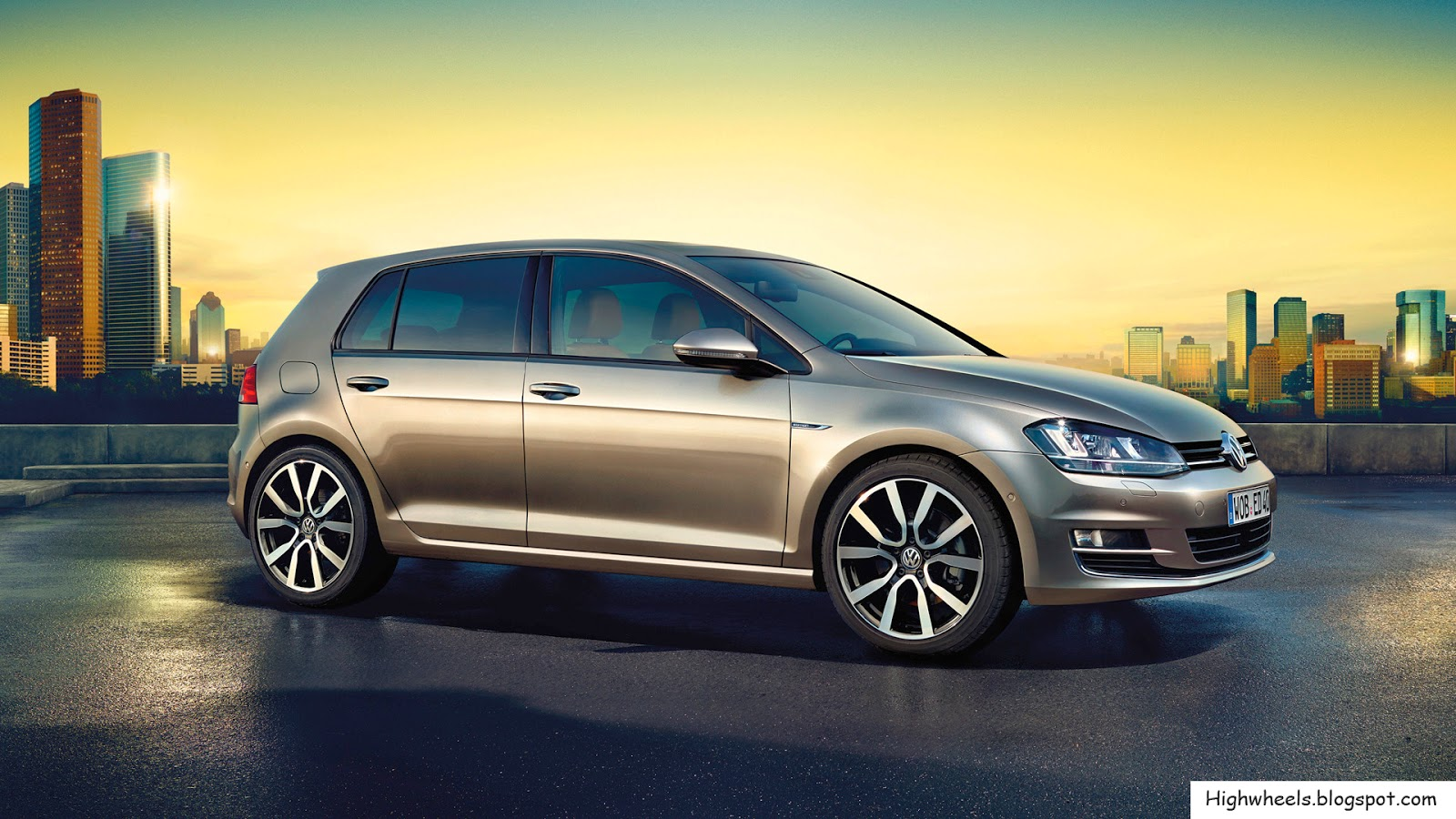 2015 Volkswagen Golf Edition High Wheels - Metallic Farben Golf 7