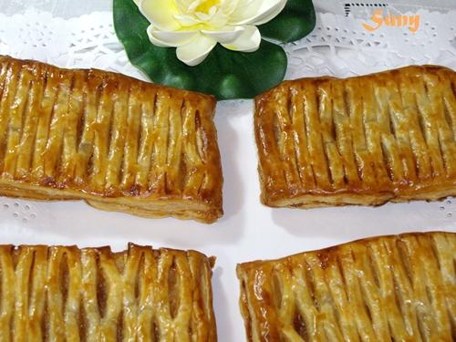 Tartitas de compota de manzana