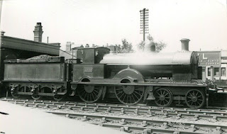 King Arthur steam engine locomotive train