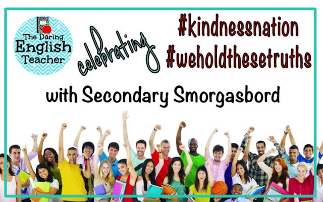 #KindnessNation #WeHoldTheseTruths resources for educators to teach kindness in the classroom.
