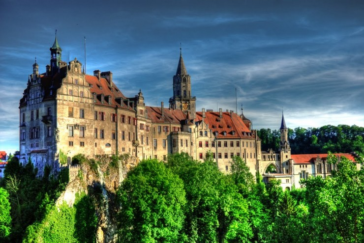 Top 10 Wonderful German Castles - Sigmaringen Castle