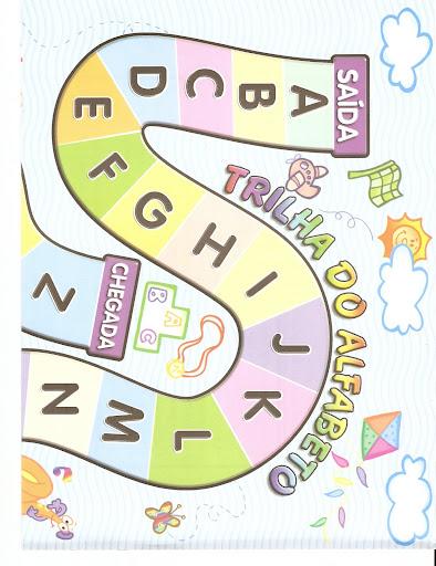 Jogo Trilha Do Alfabeto Espaco Educar