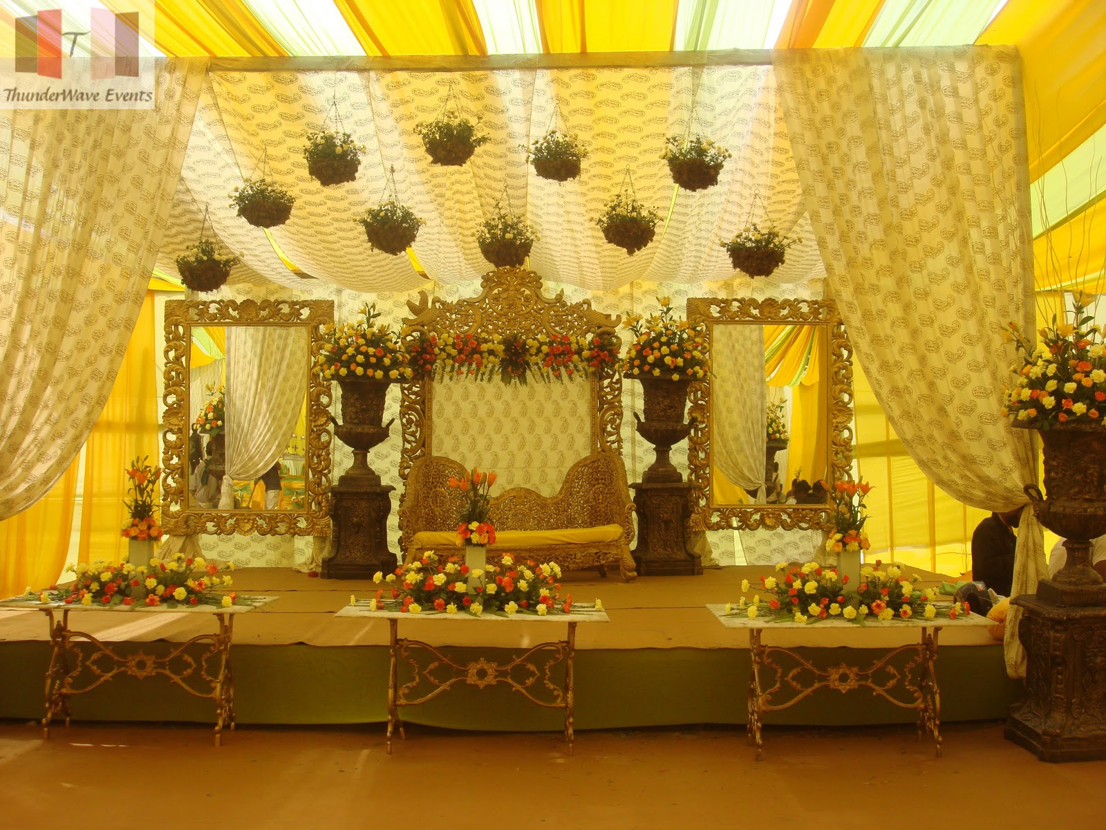 Stage Decoration Ideas Design Hindu Wedding Stage Wedding Snaps