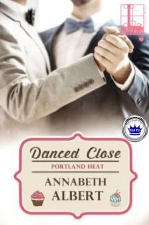 romance novel covers, contemporary romance, m/m romance, Danced Close by Annabeth Albert, Royal Pick