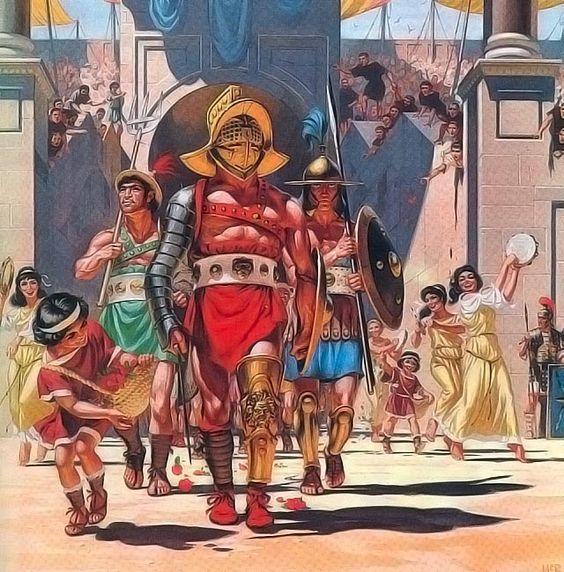 gladiator di arena