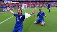 ini Video Gol Luka Modric Dari Luar Garis Gawang