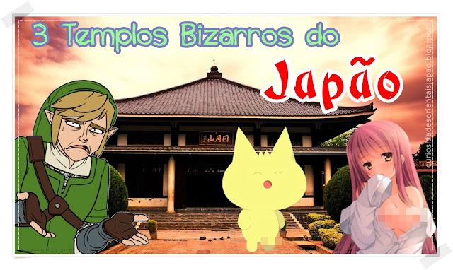 três templos bizarros do japão